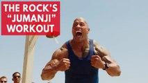 Here's what Dwayne 'The Rock' Johnson's Jumanji workout looks like