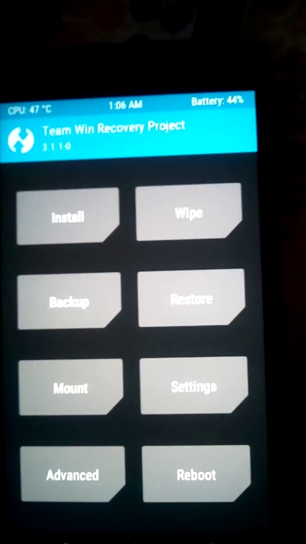 Fix unable to mount /data (Invalid argument) or caché or system with TWRP