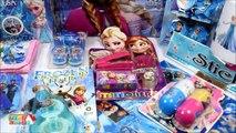 Frozen Disney Elsa   Anna Frozen Funny Huge Surprise Boxes Frozen Surprise Toys Video by Haus Toys-v