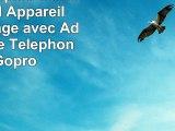 Fotopro Trépied Caméra Trépied Appareil Photo Voyage avec Adaptateur de Téléphone et Gopro
