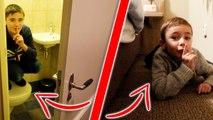 Cache-cache dans notre Maison de Vacances à Efteling !