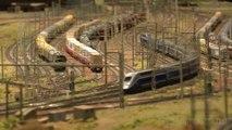 Réseau modulaire avec le TGV et les trains miniatures SNCF de l'Association Françaises des Amis du N - Une vidéo de Pilentum Télévision sur le modélisme ferroviaire avec des trains miniatures
