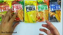Glico pretz five flavour..which flavour do you try before