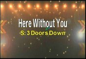 3 Doors Down Here Without You Karaoke Version