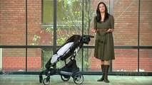 Self-folding stroller will please both moms and Transformers fans