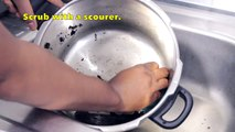 How to Wash a Burnt Pressure Cooker   Cleaning Tips