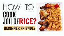 How To Cook Jollof Rice | Nigerian Jollof Rice for Beginners | Linda Barry