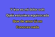 Christina Aguilera - Falsas Esperanzas (Karaoke)