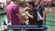 Adana'da polisten 'sulama kanalı' operasyonu!