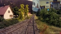 Cab Ride in HO scale on a German model railroad layout