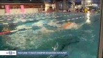 L'incroyable histoire de Théo, 17ans, champion de natation sans bras et sans jambes
