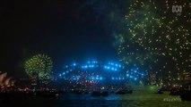 New South Wales, Australia 0h 01/01/2018 (GMT+11): Pháo hoa mừng năm mới 2018 tại Sydney Harbour - 1