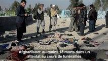 Afghanistan:un attentat à des funérailles fait au moins 18 morts