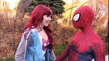 SPIDER-MAN vs IRON JOKER with Mary Jane - Real Life Superhero Movie | Superheroes | Spiderman | Superman | Frozen Elsa | Joker
