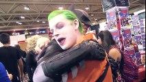 SPIDER-MAN, BATMAN, JOKER, HARLEY QUINN vs Comic Con!!! - TheSeanWardShow | Superheroes | Spiderman | Superman | Frozen Elsa | Joker