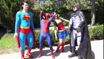 STAR WARS KYLO REN vs SPIDER-MAN BATMAN SUPERMAN WONDER WOMAN - TOY BATTLE! - TheSeanWardShow   Superheroes   Spiderman   Superman   Frozen Elsa   Joker