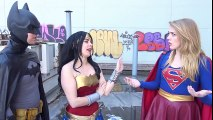 SUPERGIRL tries to Join the JUSTICE LEAGUE - with Batman, Wonder Woman | Superheroes | Spiderman | Superman | Frozen Elsa | Joker