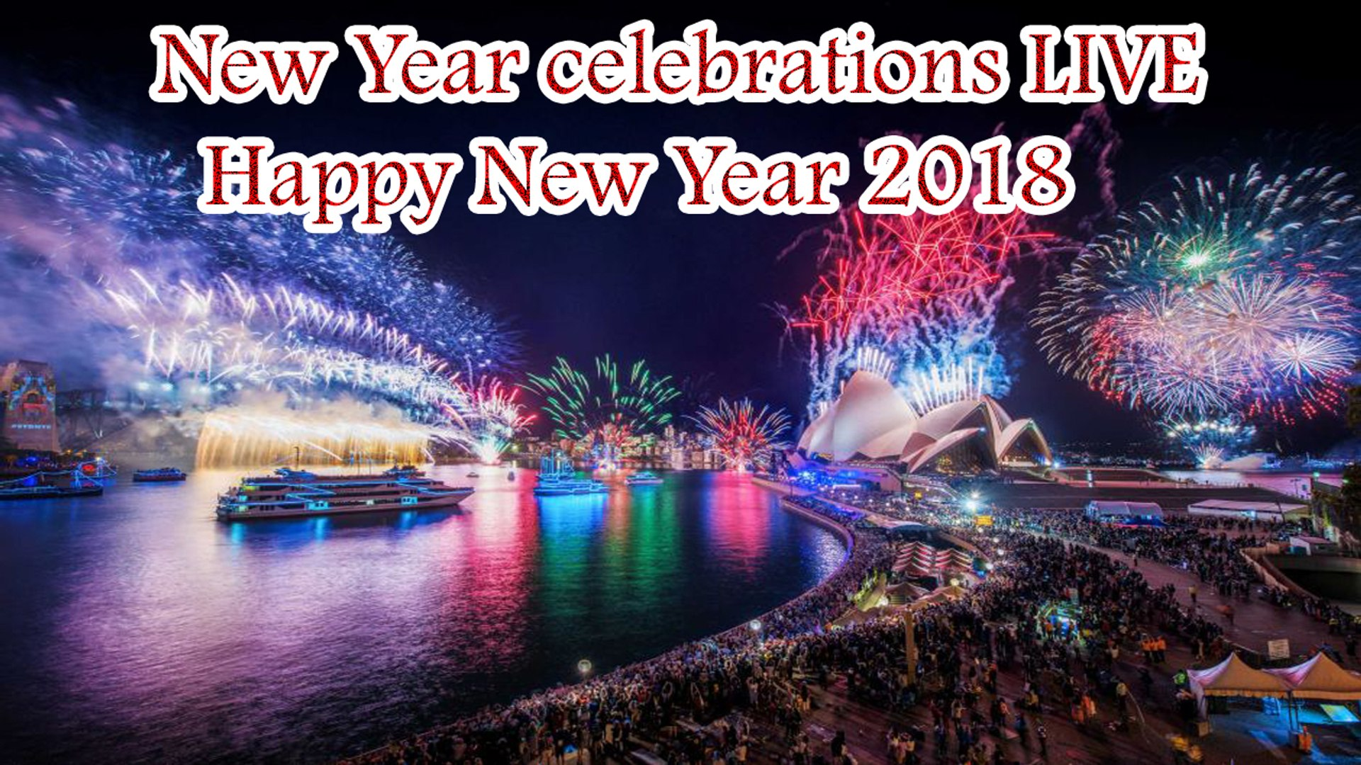 Live Happy New Year Wallpaper
