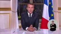 Les premiers voeux présidentiels d'Emmanuel Macron
