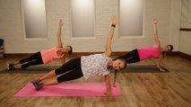 Work Out Like an Angel With This No-Equipment Workout
