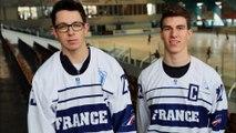 Hockey sur glace - 2017-12-26 Interviews Justin addamo & Téo Sarliève Internationaux France (2)