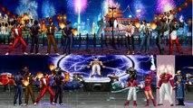 Mugen - King of Fighters - Clone Kyo Team vs. Orochi Team - Clone Team vs. Sacred Treasures Team