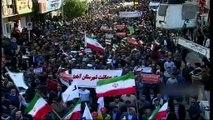 -Milyonlarca İranlı Devrime Bağlılık Yürüyüşü Gerçekleştirdi- 'Kahrolsun Fitne', 'Kahrolsun ABD', 'Kahrolsun İsrail'', 'Kahrolsun Suud Rejimi' Sloganları Atıldı
