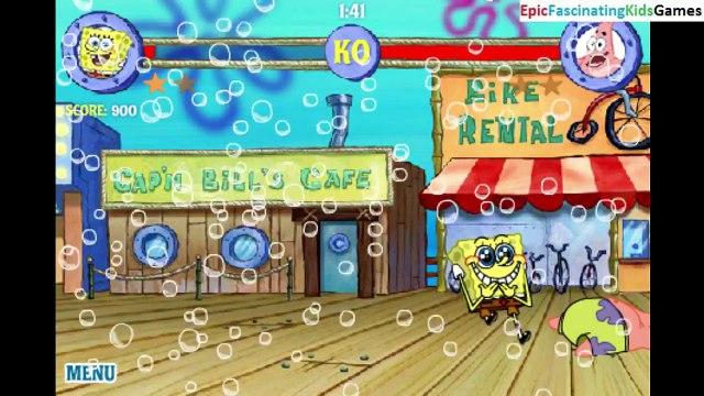 Patrick Star VS SpongeBob SquarePants In A SpongeBob SquarePants Reef Rumble Match / Battle / Fight