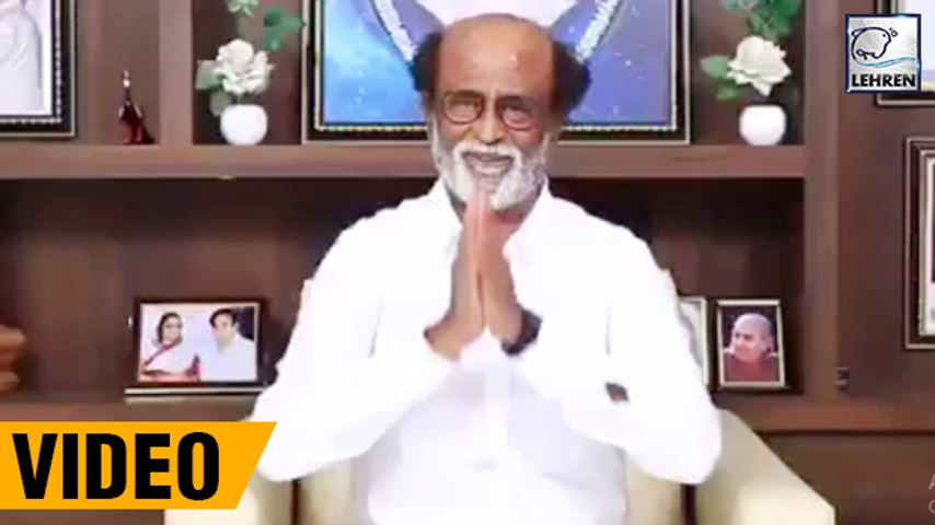 Rajinikanth's FIRST Announcement After Forming Political Party