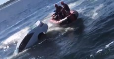 Coast Guard Breaks Window to Rescue 89-Year-Old From Sinking Car