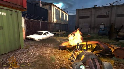 [Let's Play] Half-Life 2: Episode Two (13): Zombies et canons