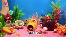 Run Away! Clay Baby Shark Fishes! _ Pinkfong Clay _ Animal Songs _ Pinkfong Songs for Children-