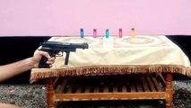 Realistic Toy Gun for Kids Airsoft Ball Bullet - Pistol vs Light