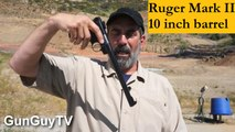 Check out this unusual Ruger .22 pistol - Ruger Mark II