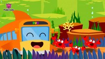 Shark Bus _ The shark bus goes  round and round _ Bus Songs _ Pinkfong Son