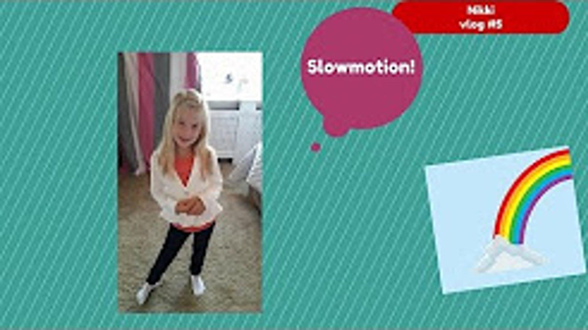 SLOWMOTION! #VLOG5 // Nikki Vlogs