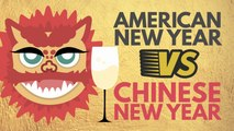 How Chinese New Year compares to American New Year