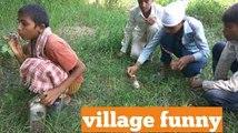 Children's comedy in village full video.इन लड़को ने की कमीन पन कि सारी हदें पार