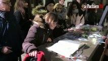 Johnny Hallyday :  l'église de la Madeleine accueille les fans