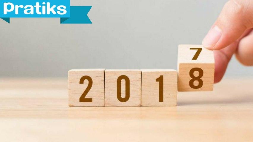 Les nouveautés à prévoir en 2018