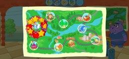 Tren oyunu hayvanat bahçesi trenle yolculuk öğretici eğlenceli çocuk filmi lunapark