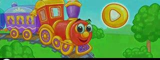 Tren oyunu hayvanat bahçesi trenle yolculuk öğretici eğlenceli çocuk filmi