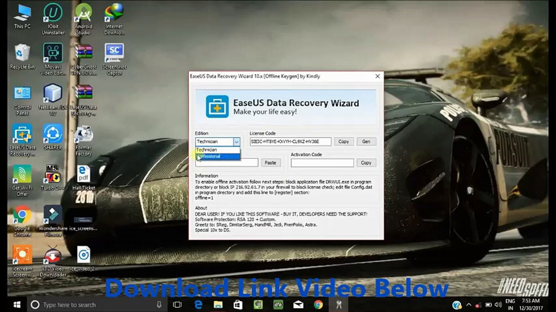 easeus data recovery wizard license key generator 11.9.0