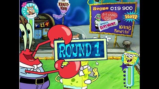 Sandy Cheeks VS SpongeBob SquarePants In A SpongeBob SquarePants Bikini Bottom Bust Up Match