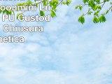 Archos Diamond Plus Custodia Moonmini Lusso Bianca PU Custodia in Pelle Chiusura