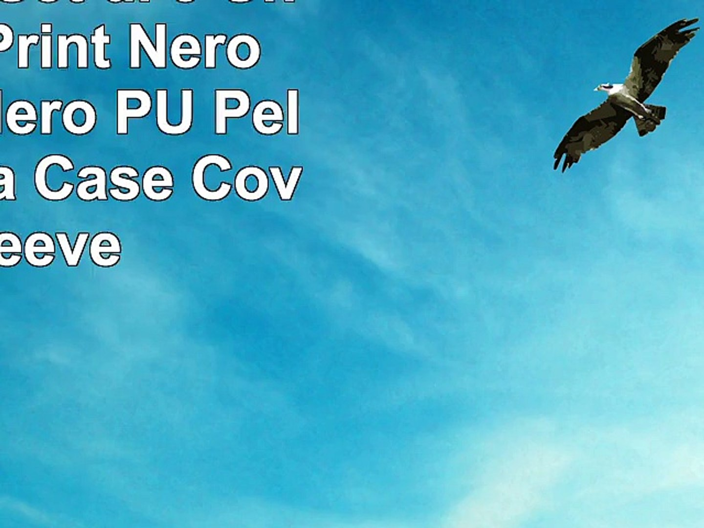 Emartbuy Set di 3  Union Jack Print  Nero  Blu  Nero  Nero PU Pelle Custodia Case