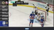 Amica Coverage Cam: Bruins' Mistakes Lead To Islanders First Goal