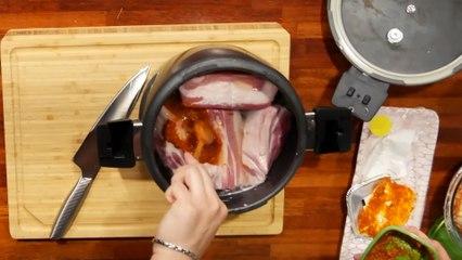 [쿡방먹방] 통삼겹+맥주+쌈장+대파=통삼겹보쌈! 재료 4개로 완성하는 초간단 보쌈! (쿡올데드 ep.13-04-02) Cooking & Mukbang! Pork Belly + Green Onion