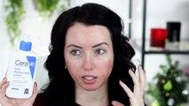DRY SKIN FOUNDATION ROUTINE & SKIN PREP! GLOWY AND FLAWLESS | Fair Skin & Acne Scarring