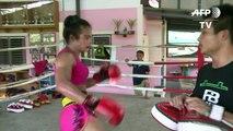 Nong Rose, boxeadora transexual tailandesa con puños de acero